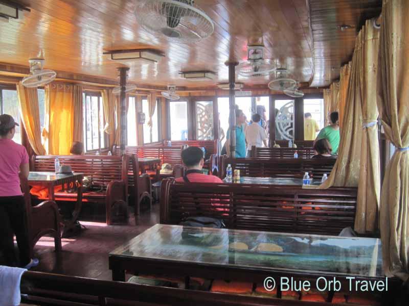 Tour Boat Interior