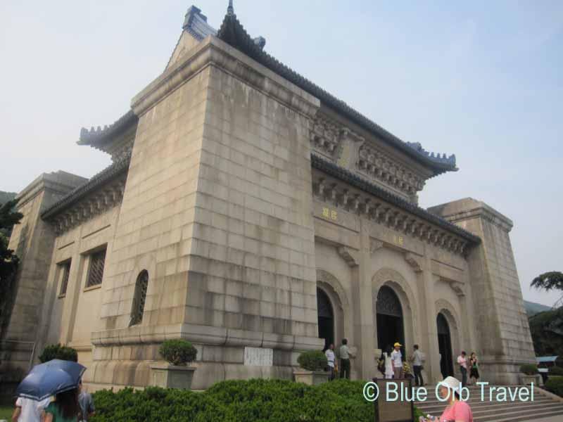 The Sun Yatsen Mausoleum