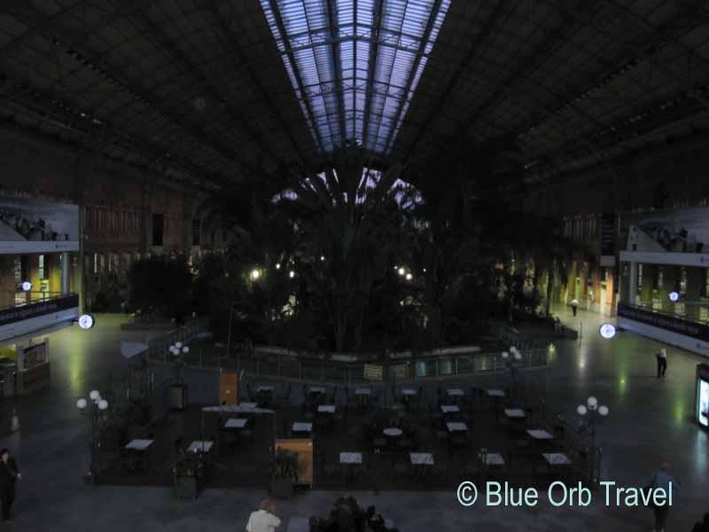 Madrid Atocha Train Station at Night