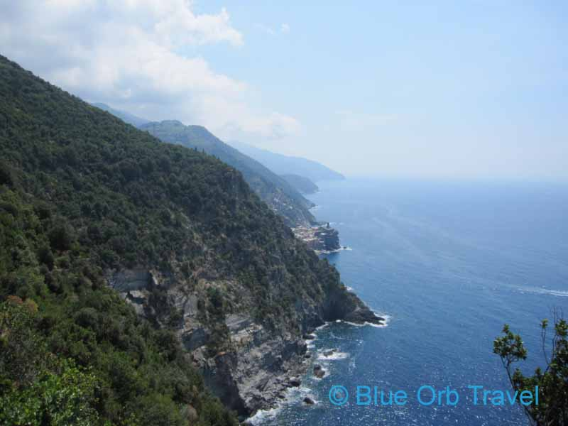 Rugged Coast on the Cinque Terre Hike