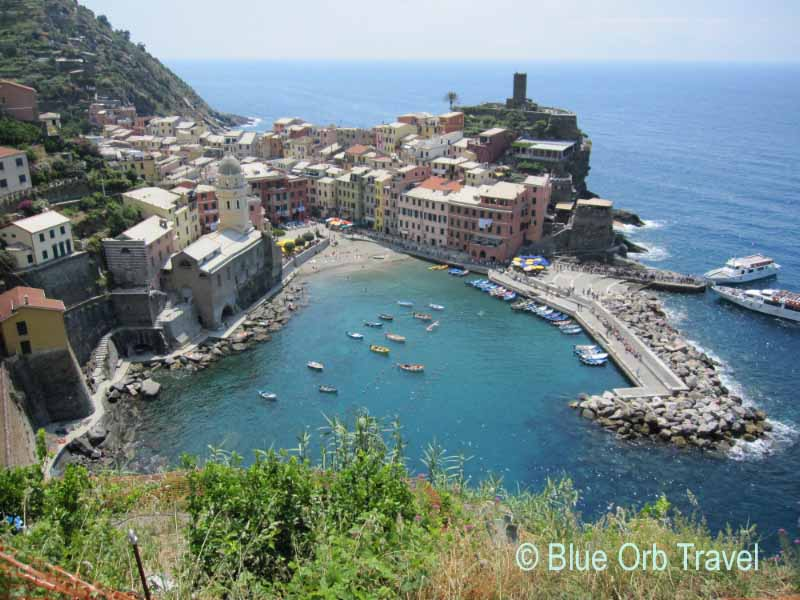 Vernazza, Italy on the Cinque Terre