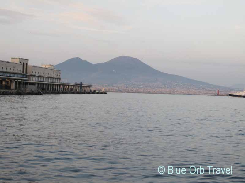 Mt. Vesuvius Across the Bay of Naples