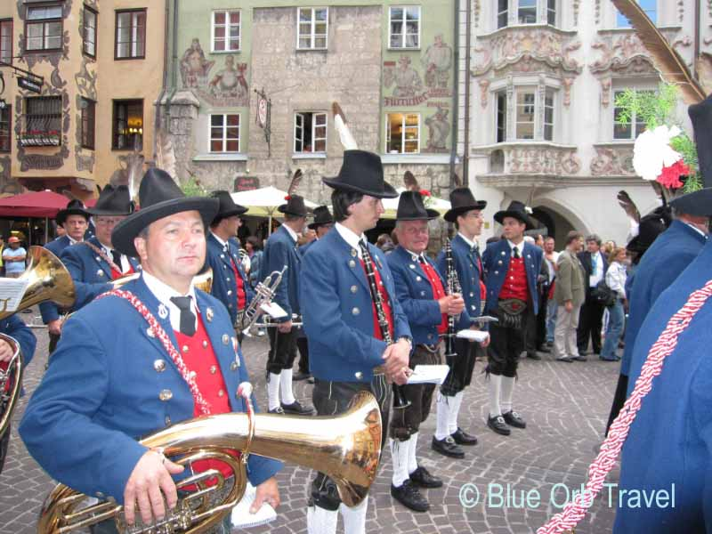 Marching Band, Old Town, Innsbruck