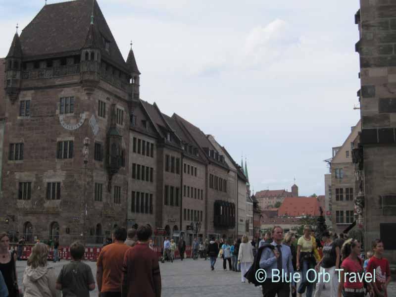 The Altstadt, Nuremberg, Germany