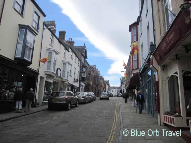 Street Scene in Conwy, Wales