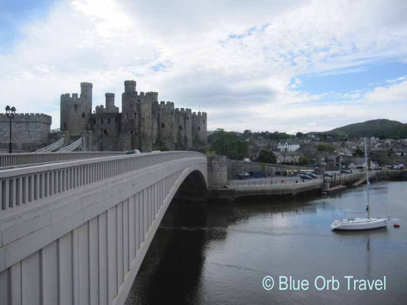 Conwy Castle on the North Coast orf Wales