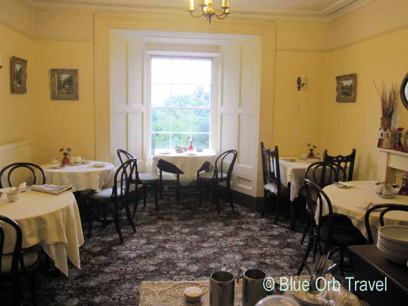 Dining Room at the Llys Llewelyn Guest House