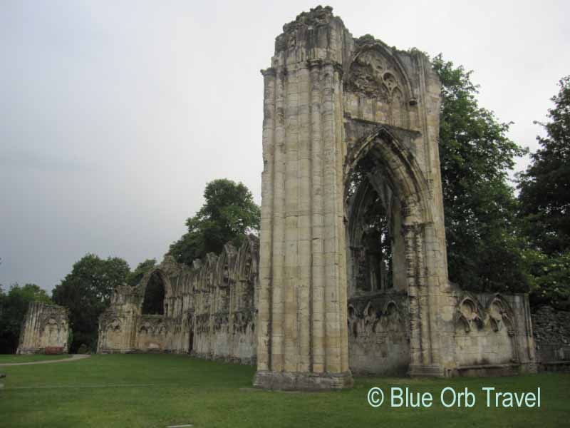 Norman Abbey Ruins, York, England