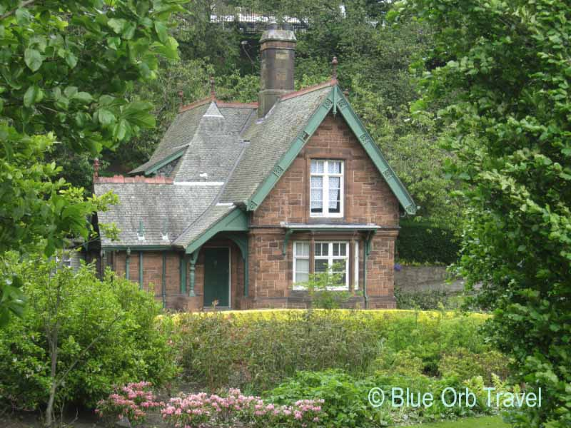 The Superintendent's Cottage, Princes Street Gardens, Edinburgh