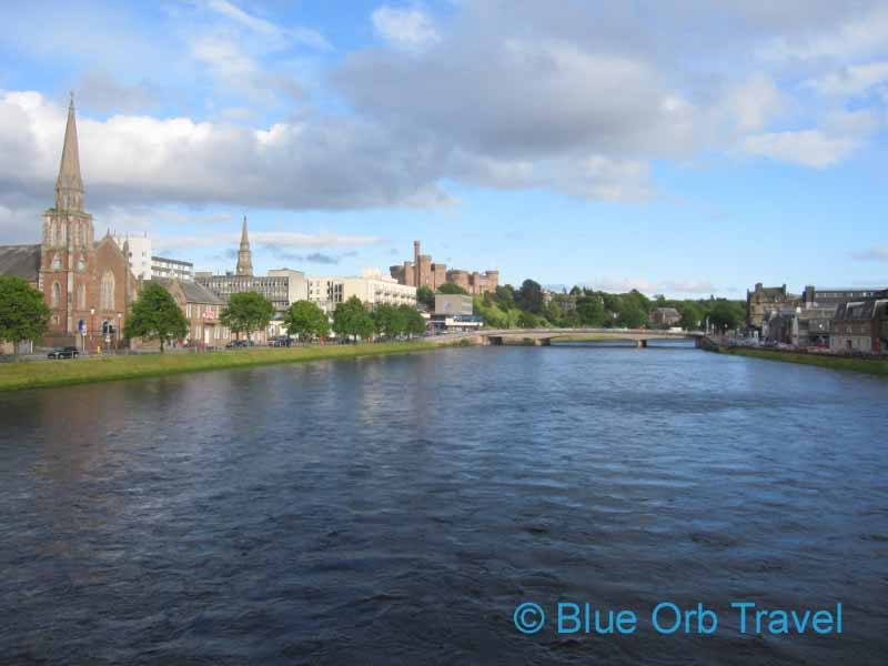 Inverness, Scotland on the River Ness