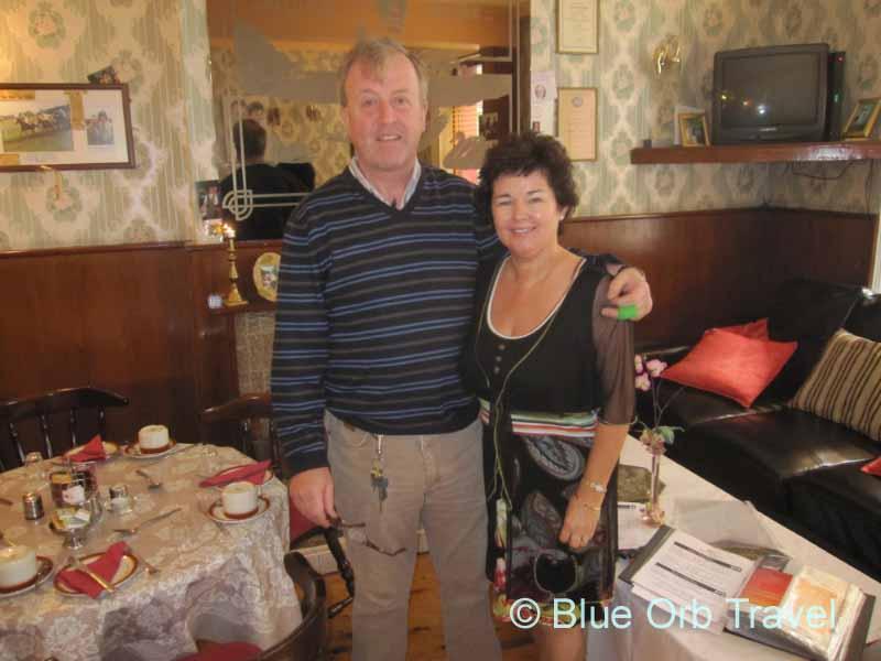 Liam and Geraldine McGettigan of McGettigan's B and B
