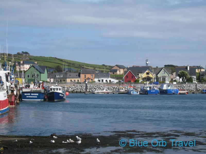 Dingle Town on the Dingle Peninsula of Ireland
