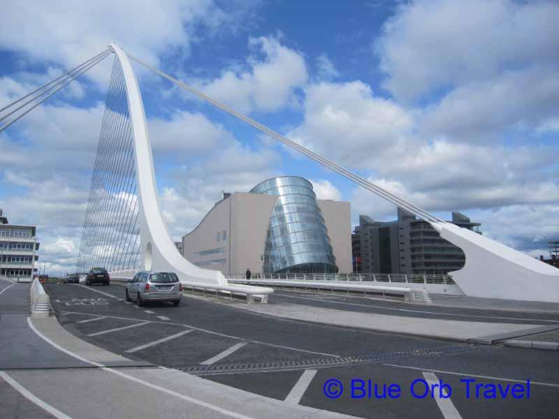The Samuel Beckett Bridge and the Convention Centre, Dublin