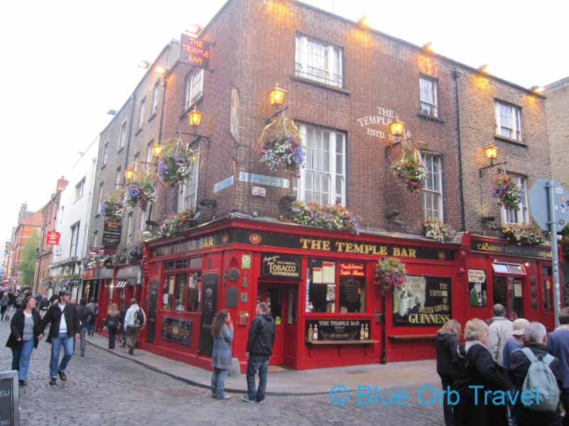 The Temple Bar Area of Dublin, Ireland