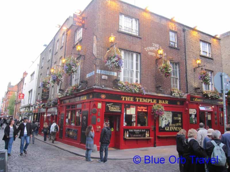 The Temple Bar Area, Dublin, Ireland