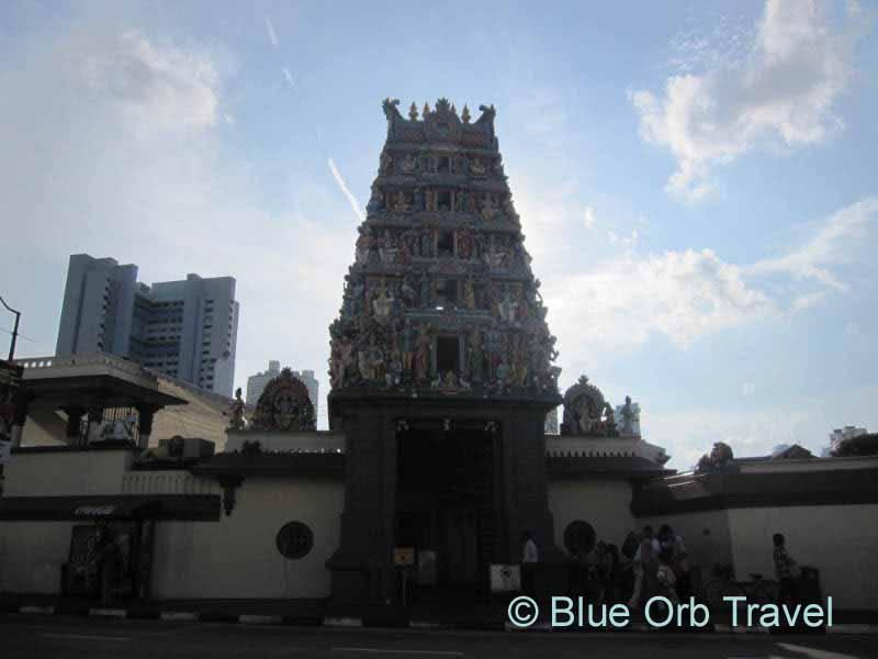 The Sri Mariamman Hindu Temple