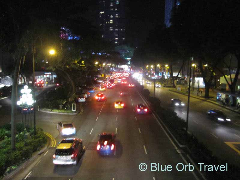 Orchard Road at Night, Singapore