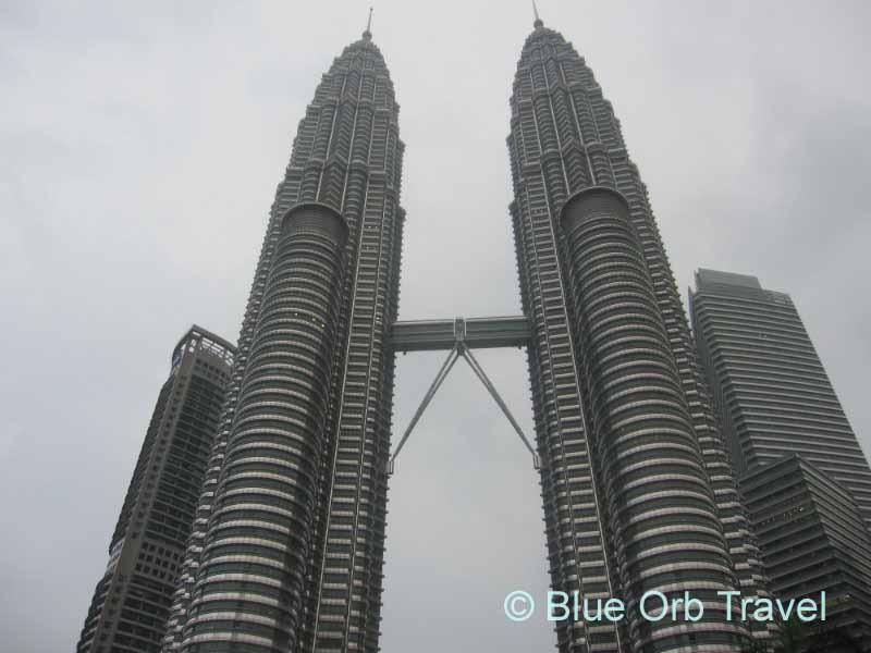 Petronas Twin Towers with Connecting Skybridge, Kuala Lumpur