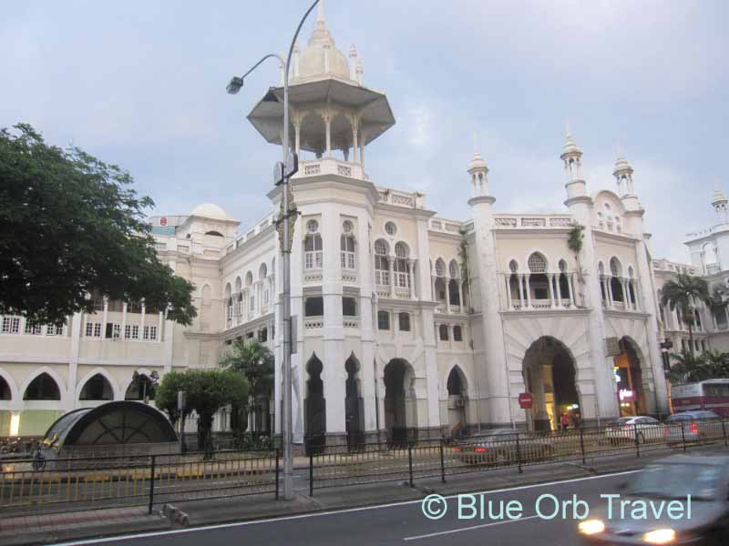Old KL Railway Station Displaying Mughal Architecture