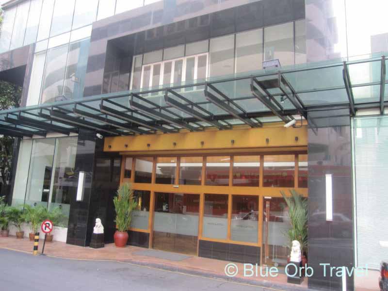 Hotel Capitol Entrance, Kuala Lumpur, Malaysia