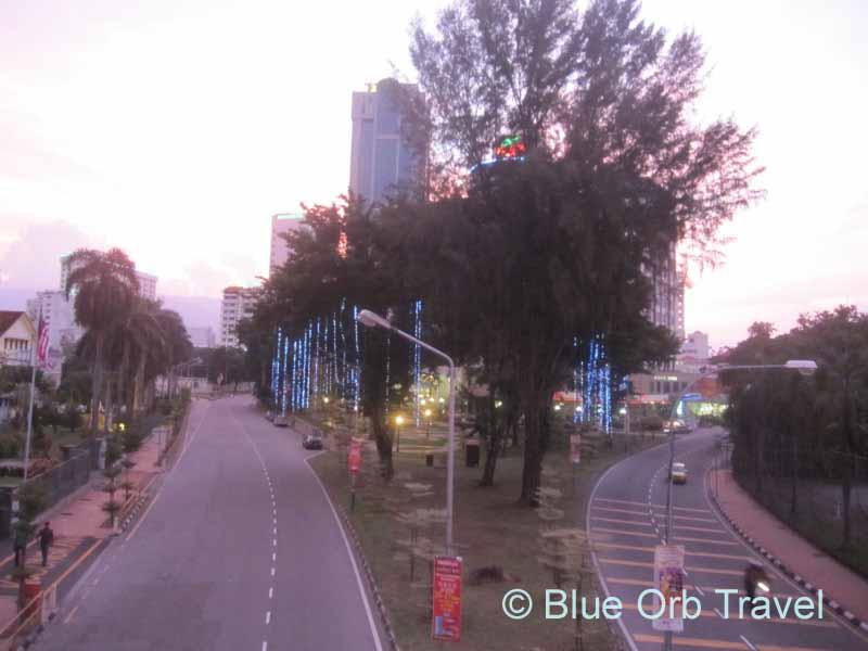 Evening Street Scene, Georgetown, Malaysia