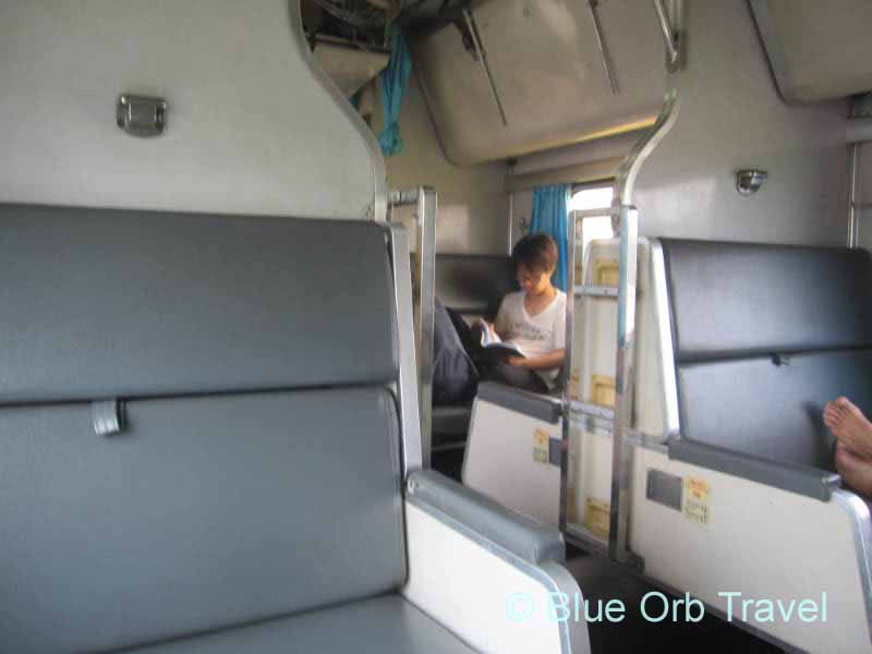 Inside the Night Train to Bangkok, Thailand