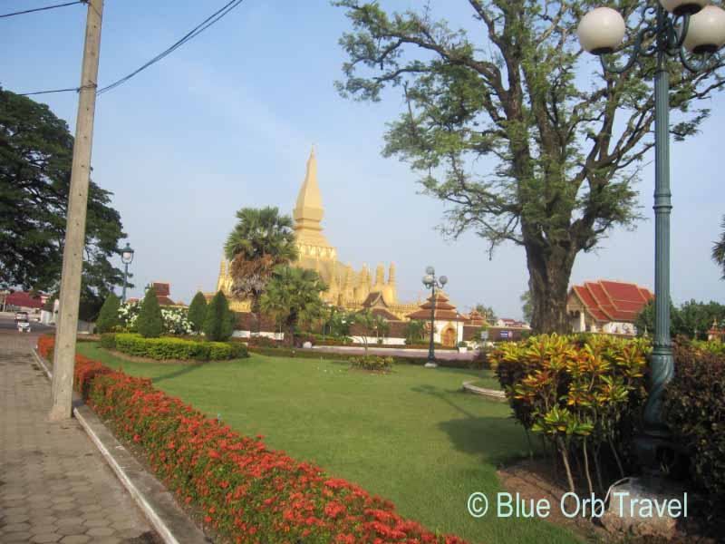 Phra That Luang Buddhist Temple, Vientiane, Laos