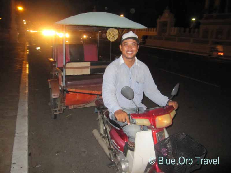 Curly, My Tuk-Tuk Driver in Phnom Penh