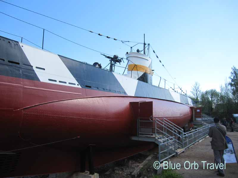 Finnish Submarine, Suomenlinna