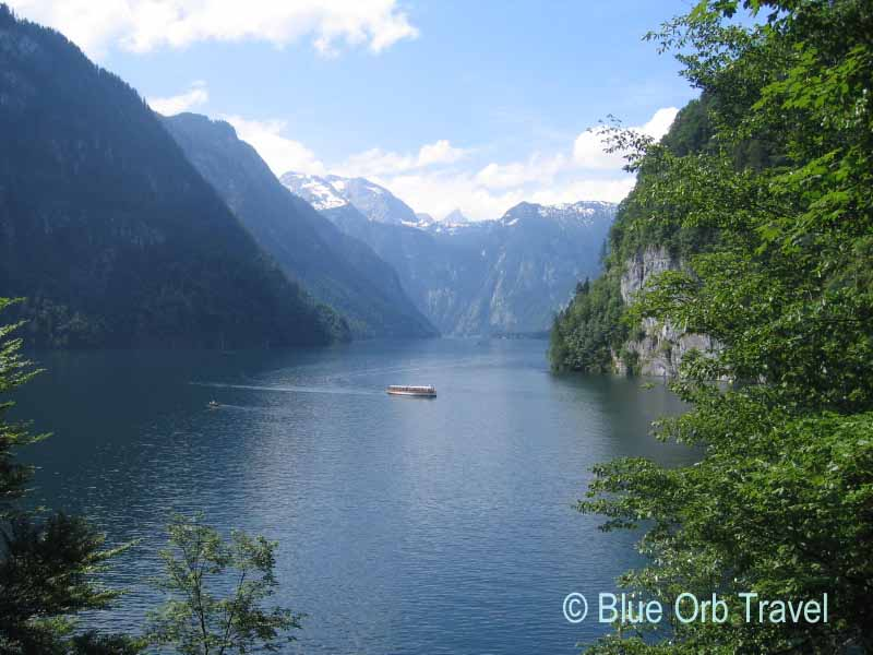 The Konigssee Lake in Bavaria, Germany