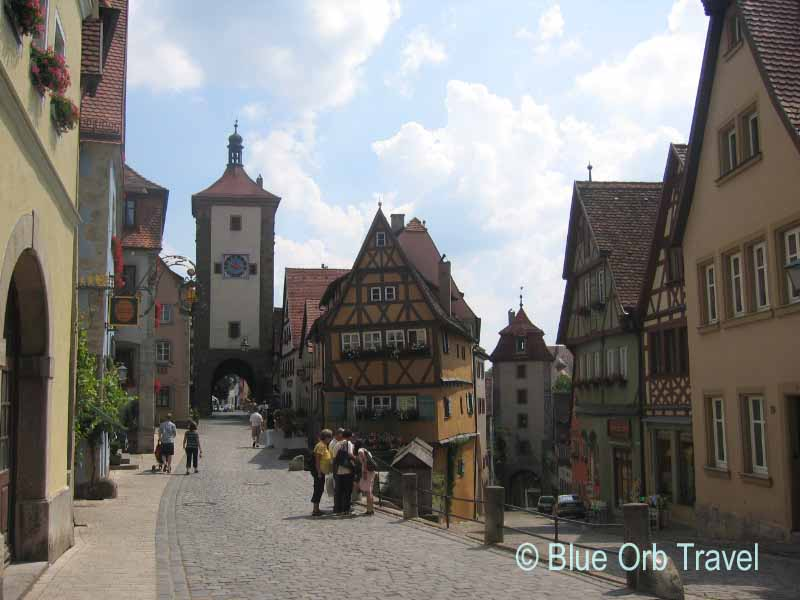 The Medieval Walled Town of Rothenburg, Germany