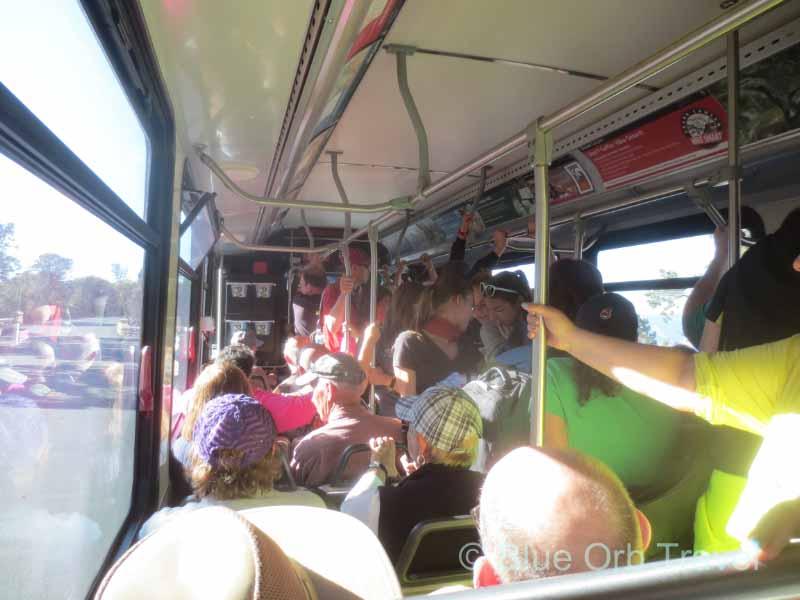 Grand Canyon South Rim Shuttle Bus
