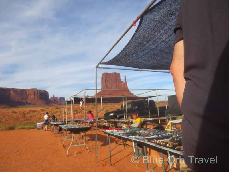 Native American Crafts at Monument Valley, Arizona