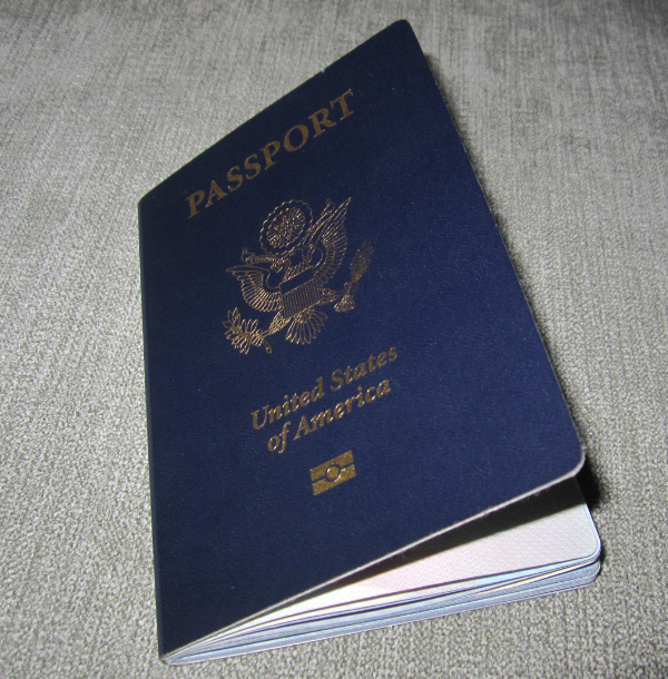 52 Page US Passport