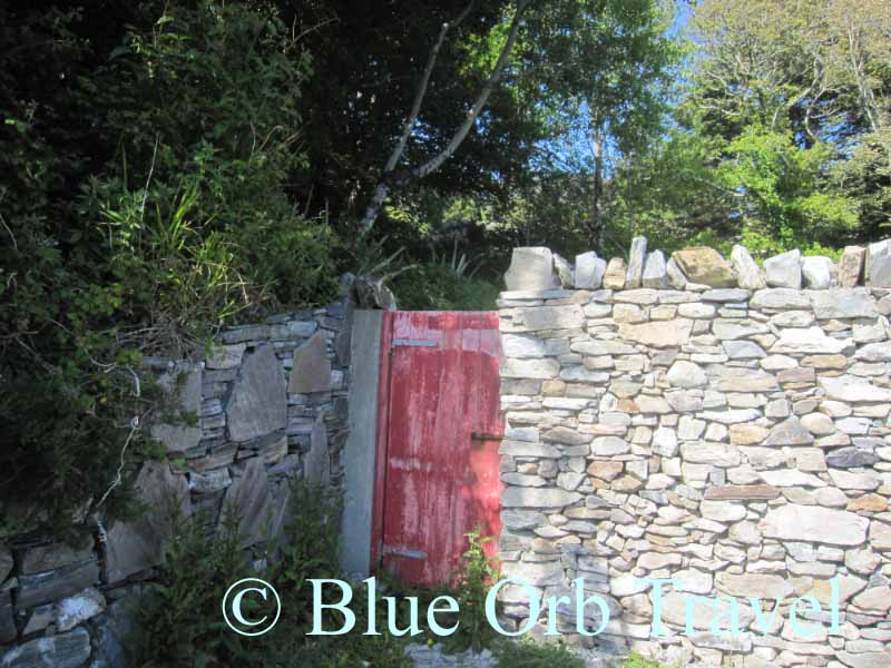 A Garden Gate in Clifden, Connemara on the West Coast of Ireland