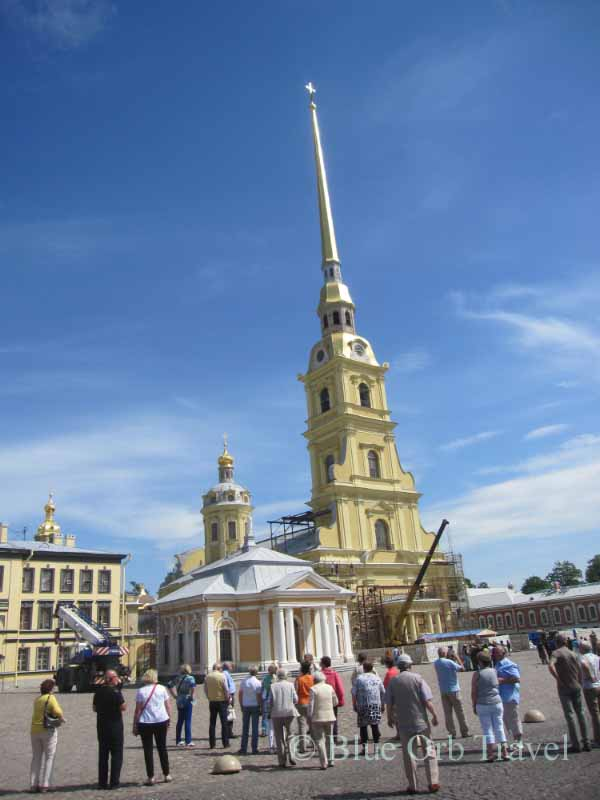 St. Peter and Paul Cathedral, St. Petersburg, Russia
