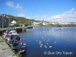 The Seaside Town of Clifden in the Cannemara Region of Ireland