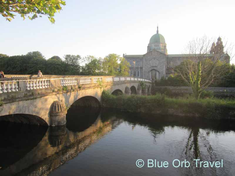 Galway Cathedral on the River Corrib